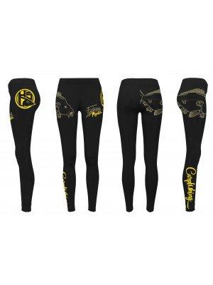 HOTSPOT DESIGN HSD Dark Camo Regular Fit schwarz-camouflage Sweat Shorts