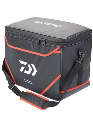 Daiwa Cool Bag Carryall, black-red, 48x28x36cm