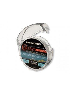 Cormoran Cortest Super Match transparent 0.22mm 4.8kg 30m - Leader line