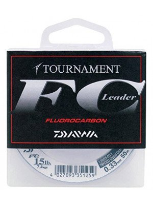 Daiwa Tournament FC, 50m, 2.9kg, 0.20mm, monofilament fishing line