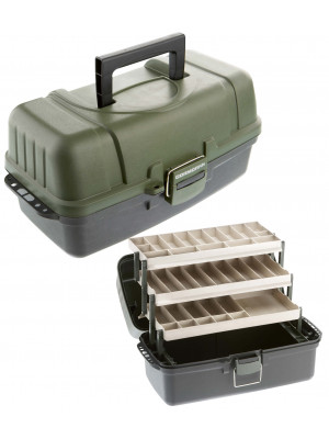 Cormoran Tackle Box Model 10004, 48 x 25 x 25cm, 3-parted, extra large