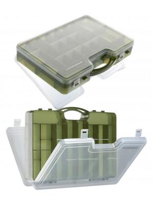 Cormoran Tackle Box Model 10021, Lure- and Allroundbox, 30 x 21 x 7cm, 2-parted