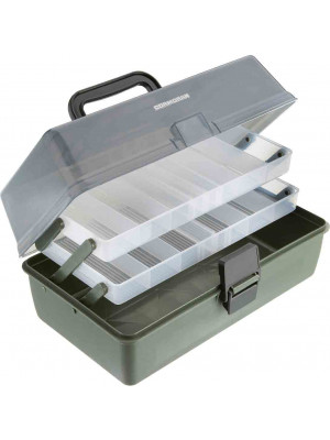 Cormoran Tackle Box Model 11001, 30 x 18 x 14.5cm, 2-parted
