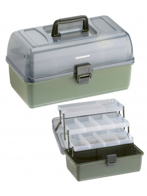 Cormoran Tackle Box Model 11004, 36 x 20 x 20cm, 3-parted