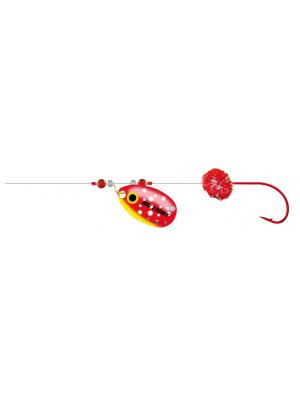 Cormoran Big Trout Trolling rig, red, 200cm, Sz. 10, DM 0.2mm, 2 pcs