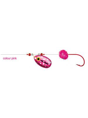 Cormoran Big Trout Trolling rig, pink, 200cm, Sz. 10, DM 0.2mm, 2 pcs
