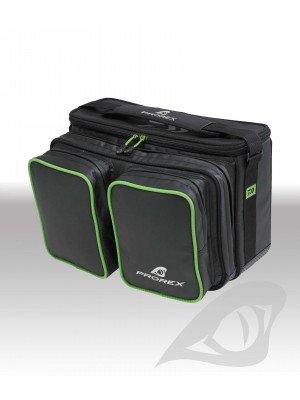 Daiwa Prorex Shoulder Bag, 39x25x26cm, black/green, water repellent