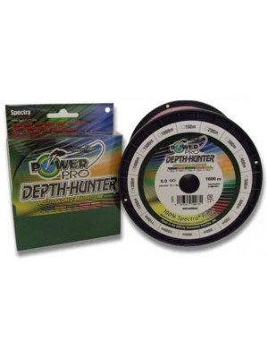 Power Pro Depth-Hunter Multi Colour 300m 0,10mm 5kg