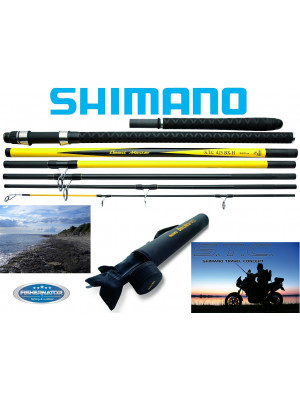 Shimano Beastmaster STC Surf BX, 4.25m, up to 225g, 7 parts, Boat rod, Travel rod