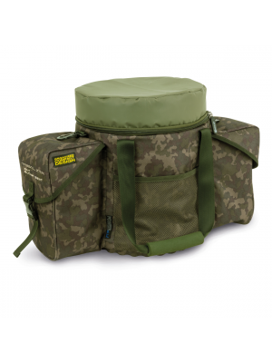 Shimano Tribal XTR Bait Bucket Seat, 54cmx30cmx39cm, Accessory bag, Bait bucket bag
